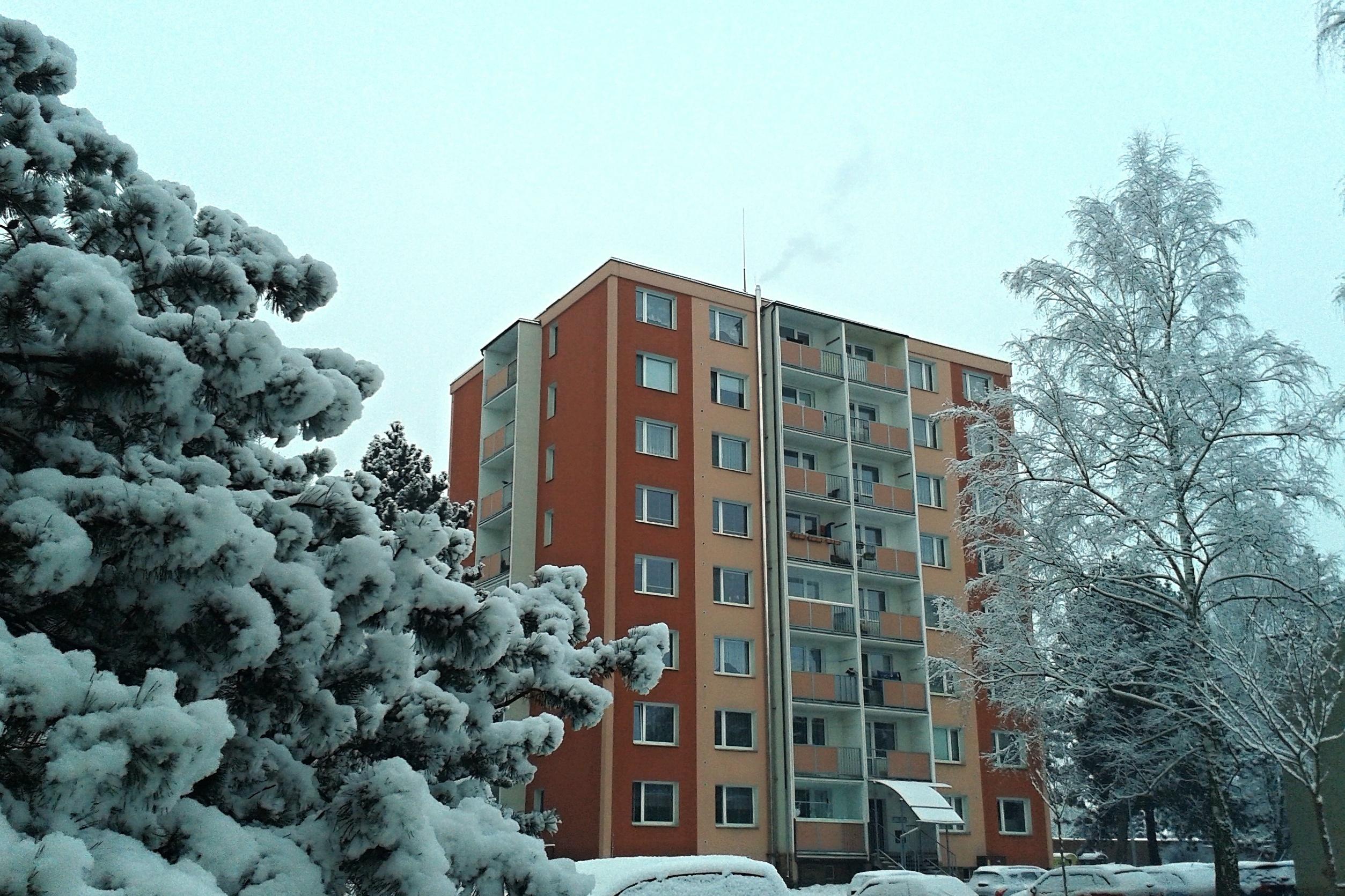 první sníh